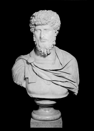 Portraitbust of LUCIUS VERUS