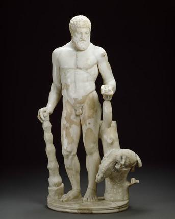 Hercules statuette
