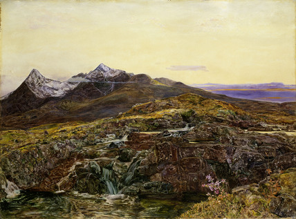 Cuillin Ridge, Skye, from Sligachan