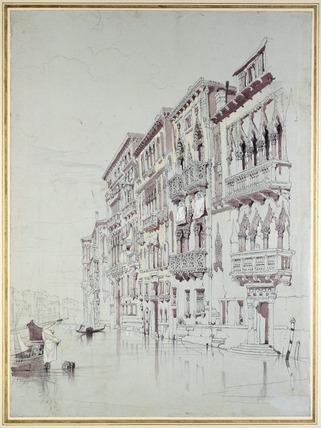 The Palazzo Contarini-Fasan, Venice