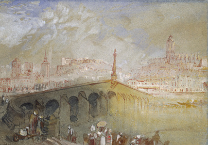 The Bridge at Blois; Fog Clearing