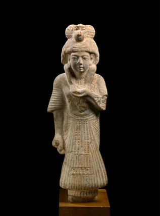 Statue of a scribe and priest of the god Thoth
