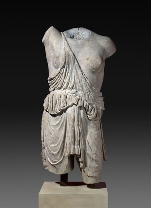 Torso from a statue