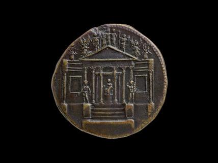 Tiberius / Temple of Concordia (AD 14–37)