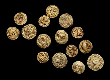 Selection from the Crondall hoard