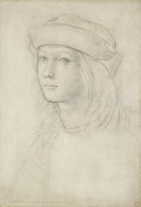 Portrait of an unknown Youth  (possibly a self-portrait)