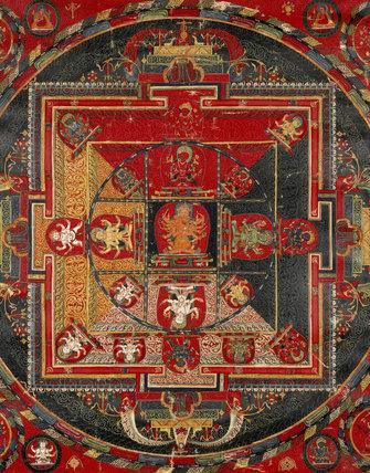 Mandala of Guhyasamaja-Manjuvajra