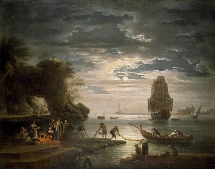 Coastal Scene (La nuit)