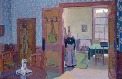 Interior with Mrs Mounter