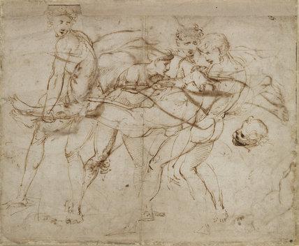 Recto: (?)The Death of Adonis