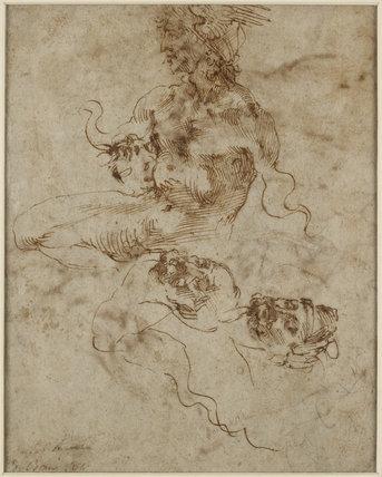 A Figure resembling a Triton