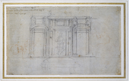 Design for one of the Medici Tombs