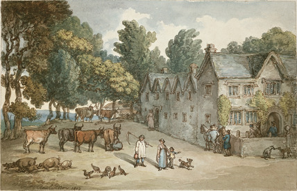 A Farmhouse near Hengar, Cornwall