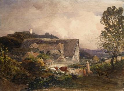 Farm Yard at Princes Risborough