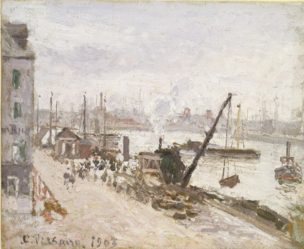 Quayside at Le Havre