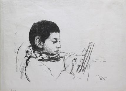 Portrait de Lucien Pissarro