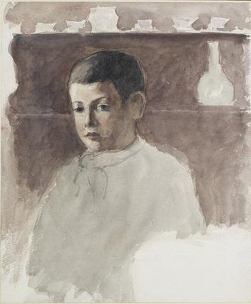 Half-length Portrait of Lucien Pissarro (1863-1944)