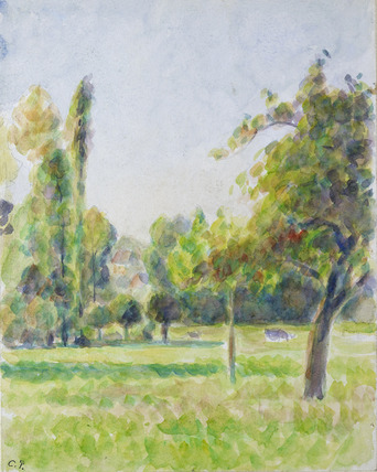 Study of the Orchard of the Artist's House at Eragny-sur-Epte