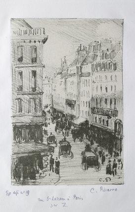 Rue Saint-Lazare, Paris