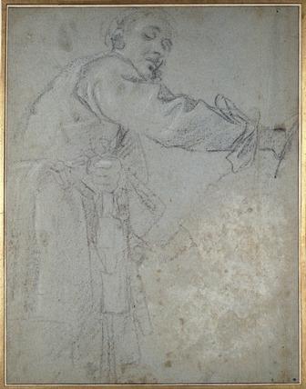 Study of a draped male Figure