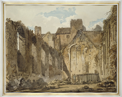 The Ruins of the Chapel in the Savoy Palace, London