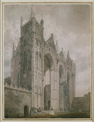 West Front of Peterborough Cathedral
