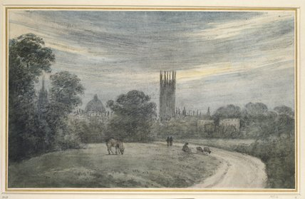 The Entrance to Oxford from London, from Recollection
