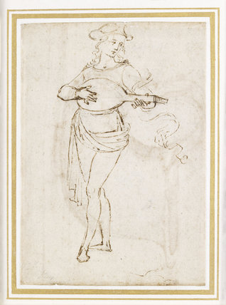 A Lute Player