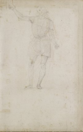 Study for a St John the Baptist