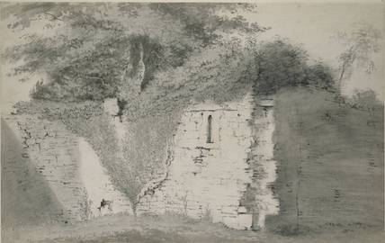 Part of the Old Walls of Godstow Nunnery