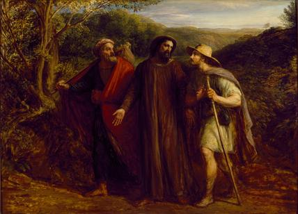 Christ's Appearance to the Two Disciples journeying to Emmaus