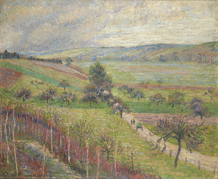 The Thierceville Road, Early Spring