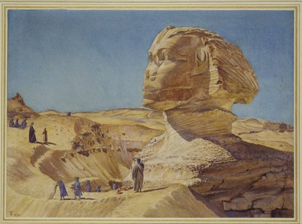 Excavations around the Sphinx