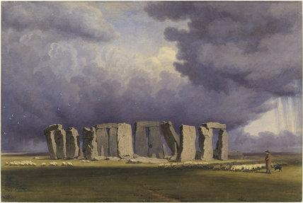 Stonehenge: Stormy Day