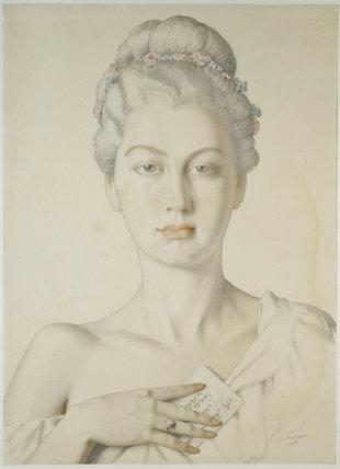 Imaginary Portrait of Cécile de Volanges in Choderlos de Laclos's 'Liaisons dangereuses'