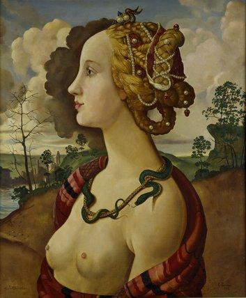 A Copy of the so-called Portrait of Simonetta Vespucci