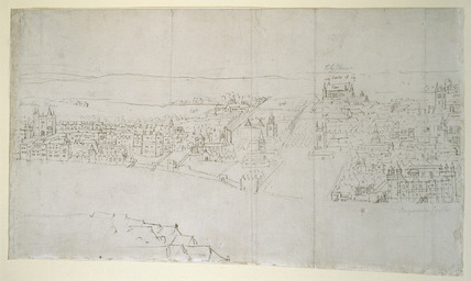 Durham House to Barnard's Castle - from the London Panorama