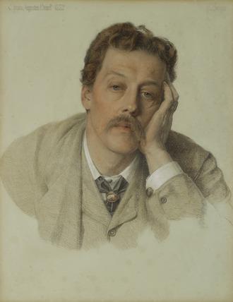 Portrait of Charles Augustus Howell