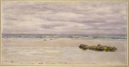 Kennack Sands, Cornwall, at Low Tide