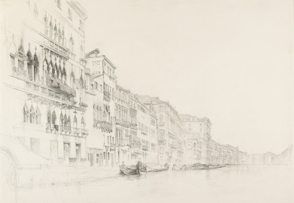 View from the Palazzo Bembo to the Palazzo Grimani, Venice