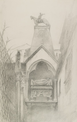 Study of the Tomb of Can Grande della Scala, Verona
