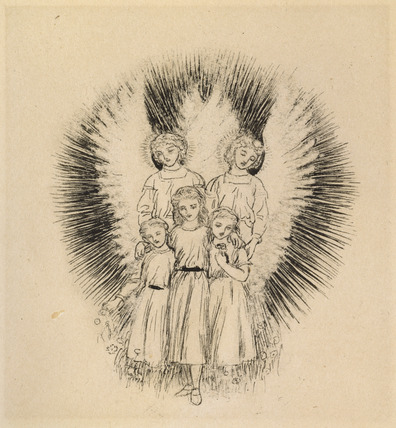 Three little Children on the wide wide Earth