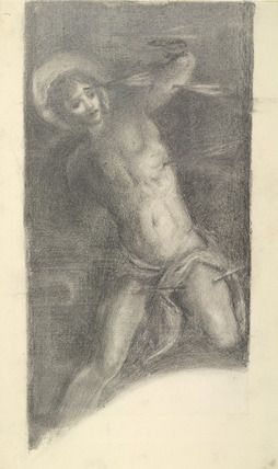 St Sebastian (after Tintoretto in the Scuola di S. Rocco, Venice)