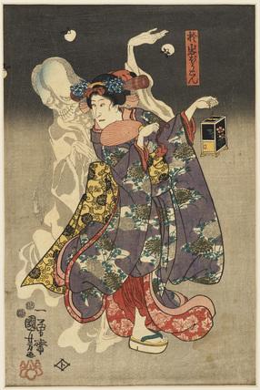 Oiwa the lantern ghost (Oiwa jōchin)