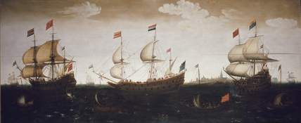 Three Warships off Flushing