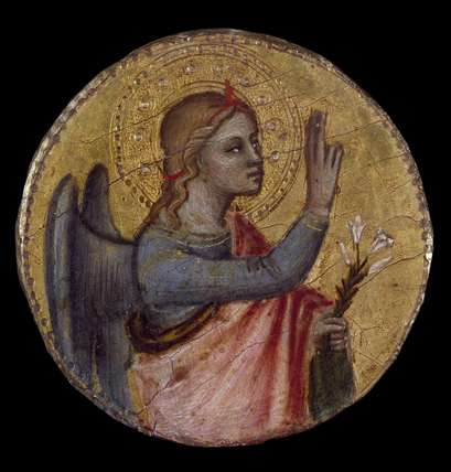 Angel and Virgin of the Annunciation