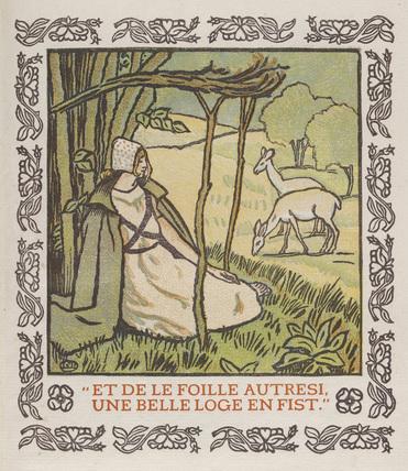 Frontispiece from 'C'est D'Aucassin et de Nicolete'