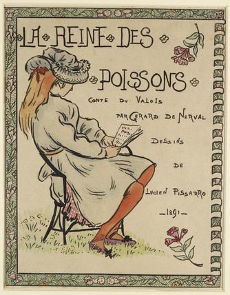 Frontispiece for 'La Reine des Poissons'