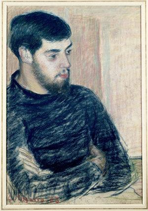 Portrait of Lucien Pissarro (1863-1944)