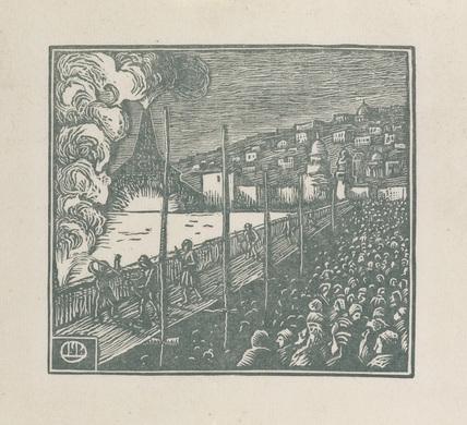 The Explosion from 'Gerard de Nerval: Histoire de la Reine du Matin & de Soliman Prince des Geniés
